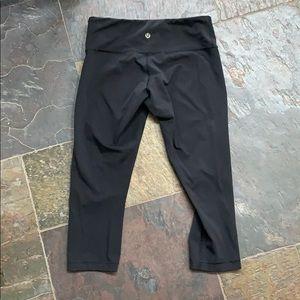 Wunder Under Crop leggings (full on luon)